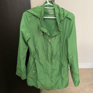 Green Spring Rain Coat